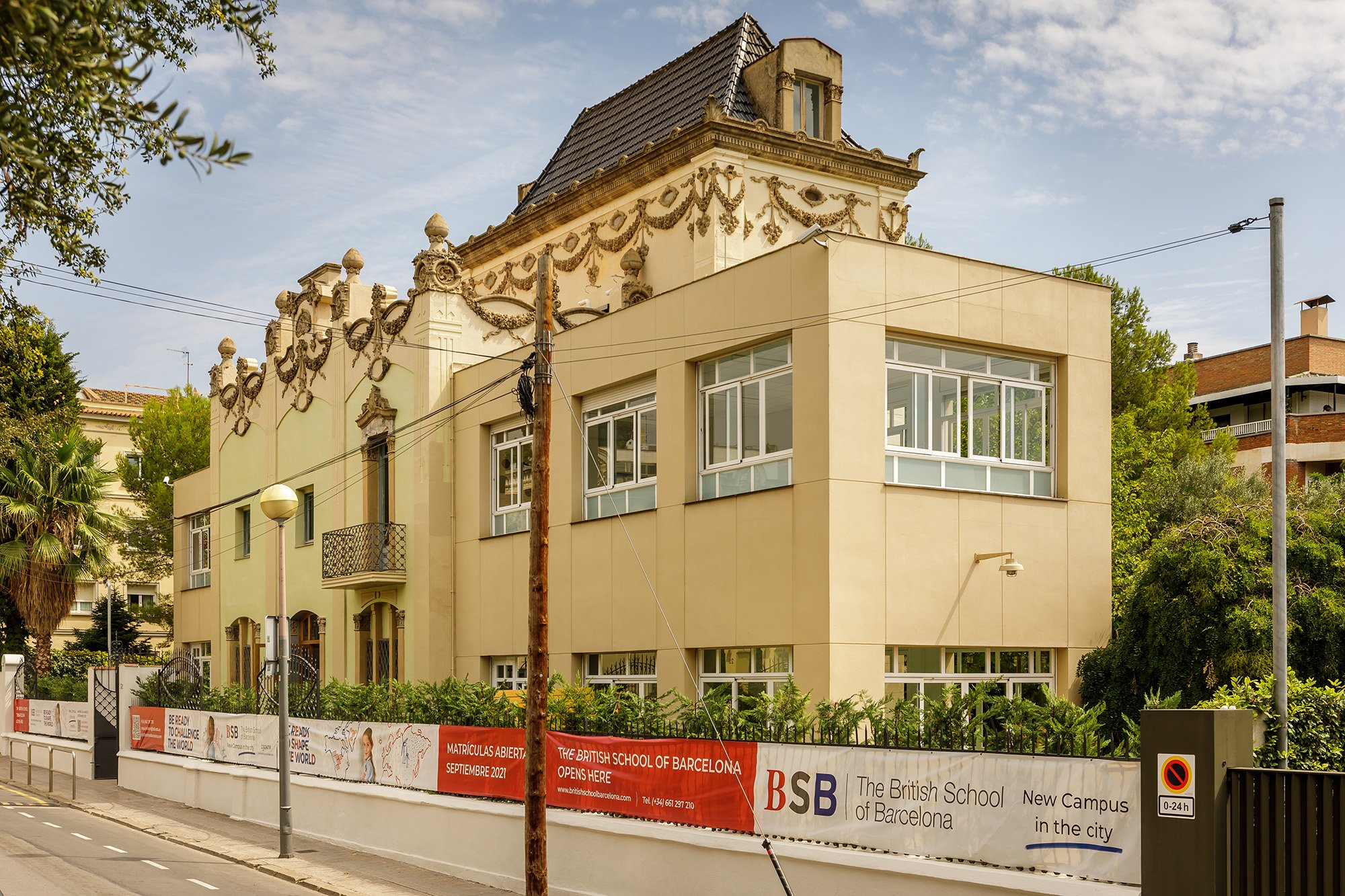 BSB starts the school year with a new campus in Barcelona