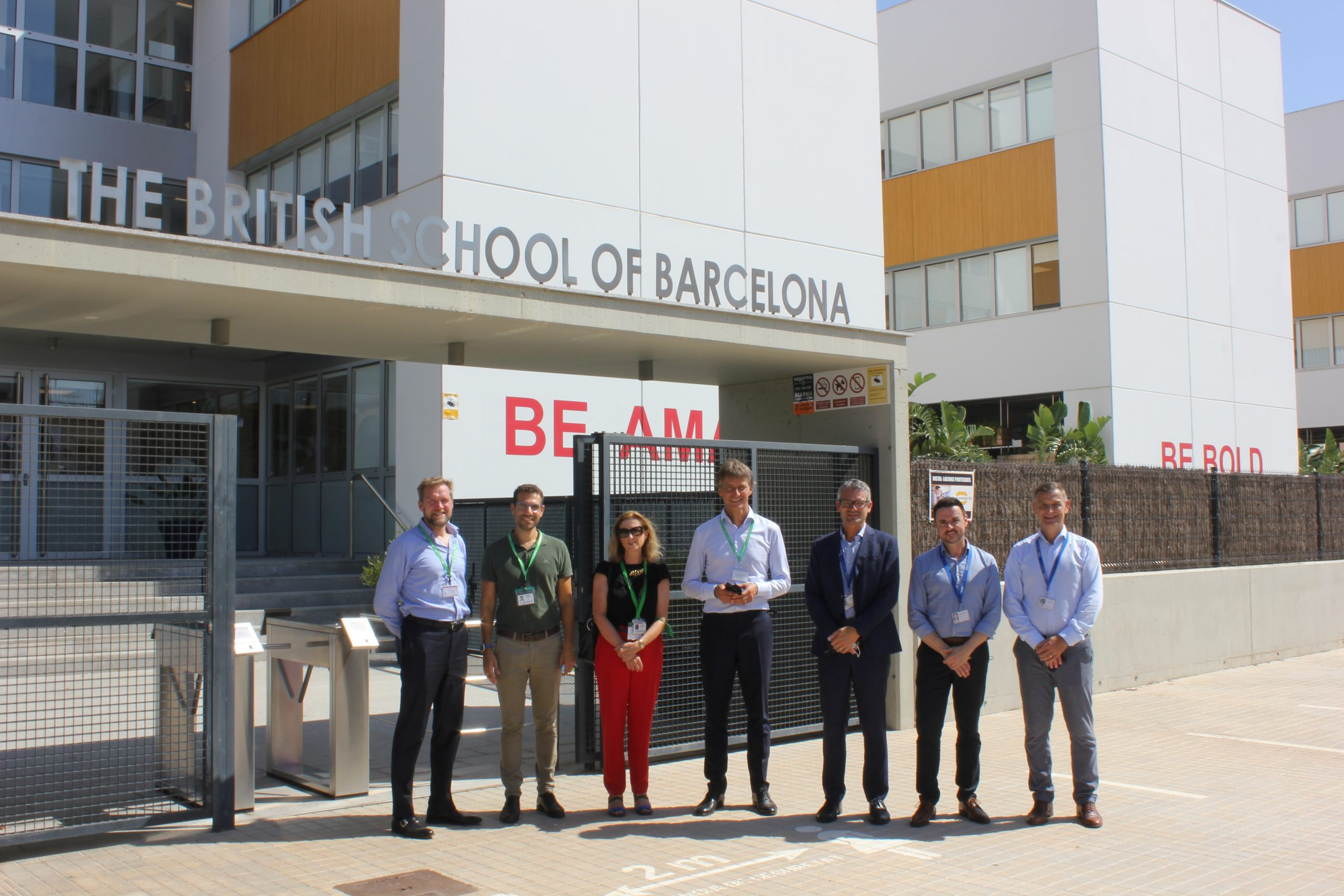 New Group Chief Executive Officer of Cognita visits BSB